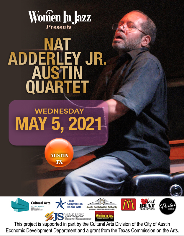 Nat Adderley, Jr. In Concert At Parker Jazz Club, Wednesday, May 5th. 9p