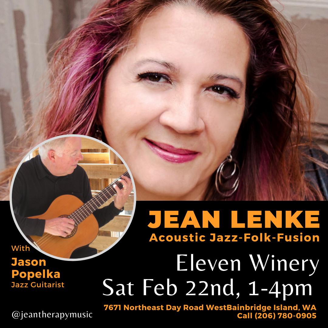 Jean Lenke ~ Acoustic Jazz-folk