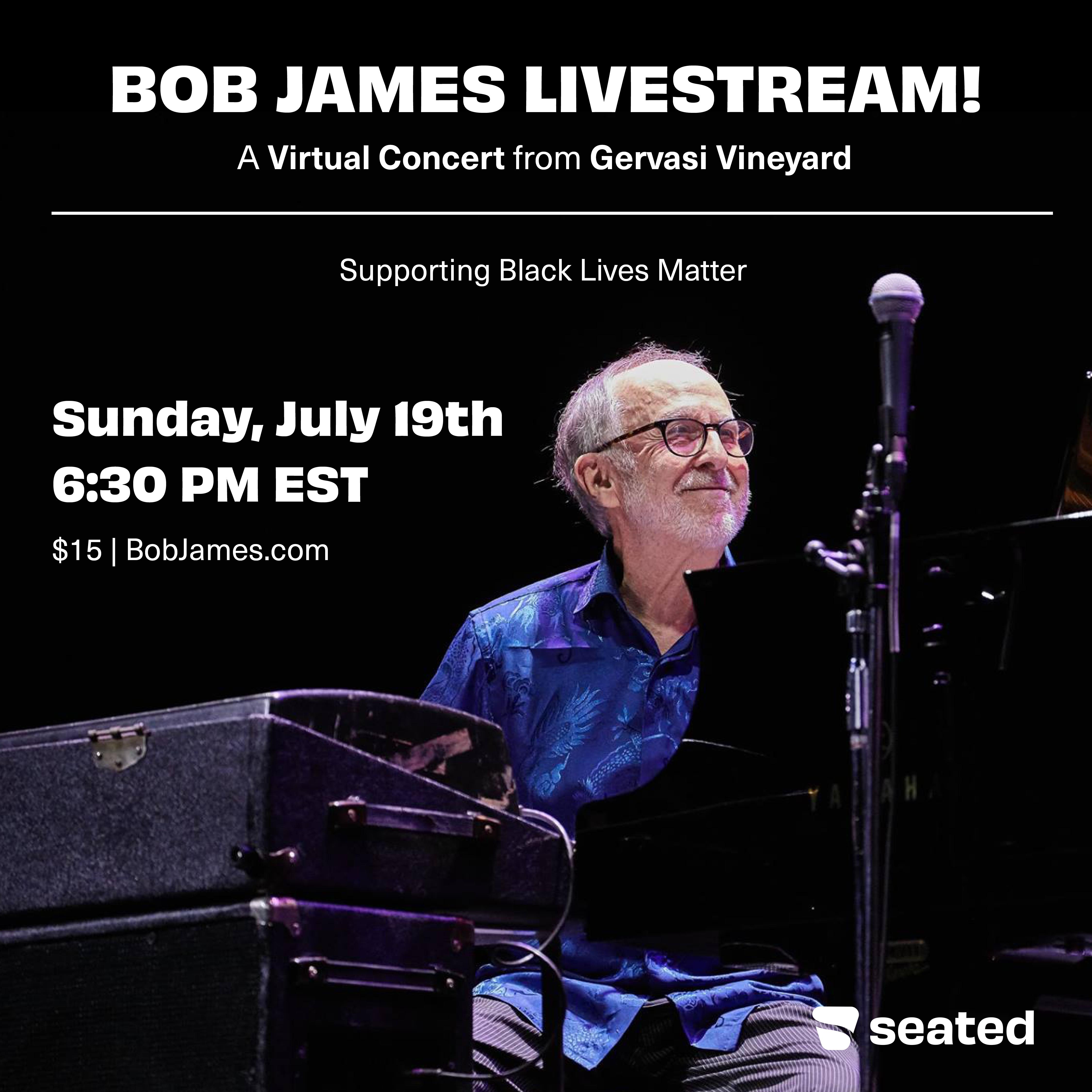 Bob James Livestream Concert!