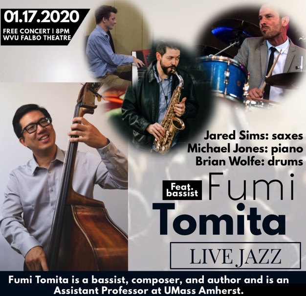 Live Jazz Feat. Fumi Tomita W/ Jared Sims, Brian Wolfe, Michael Jones