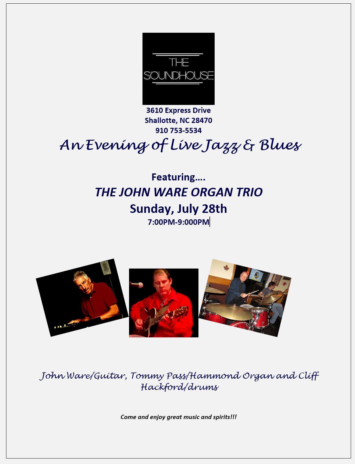 John Ware Organ Trio