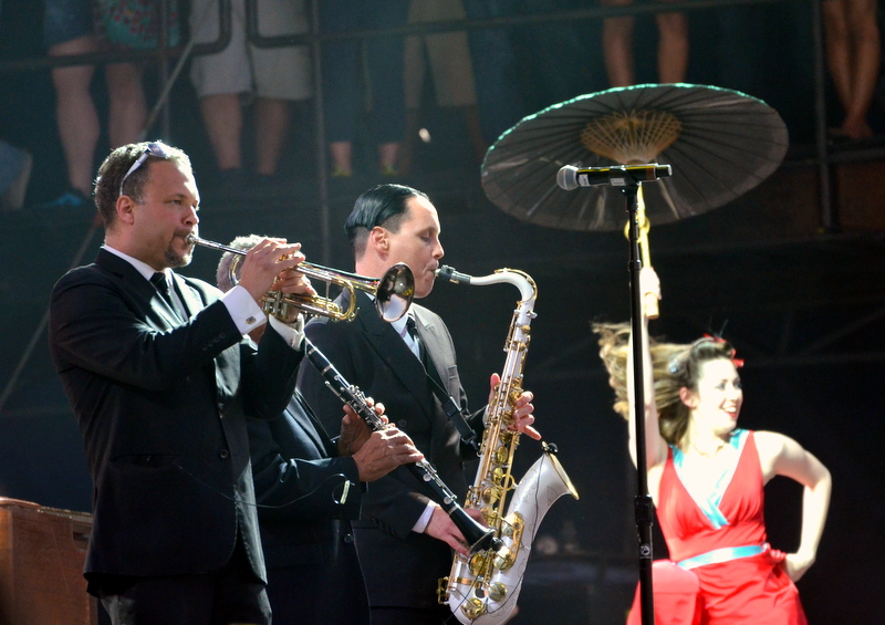 Preservation hall jazz band - voodoo fest 2013, new orleans, la