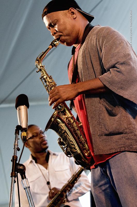 Steve Coleman / Ravi Coltrane / Newport Jazz Festival 2011