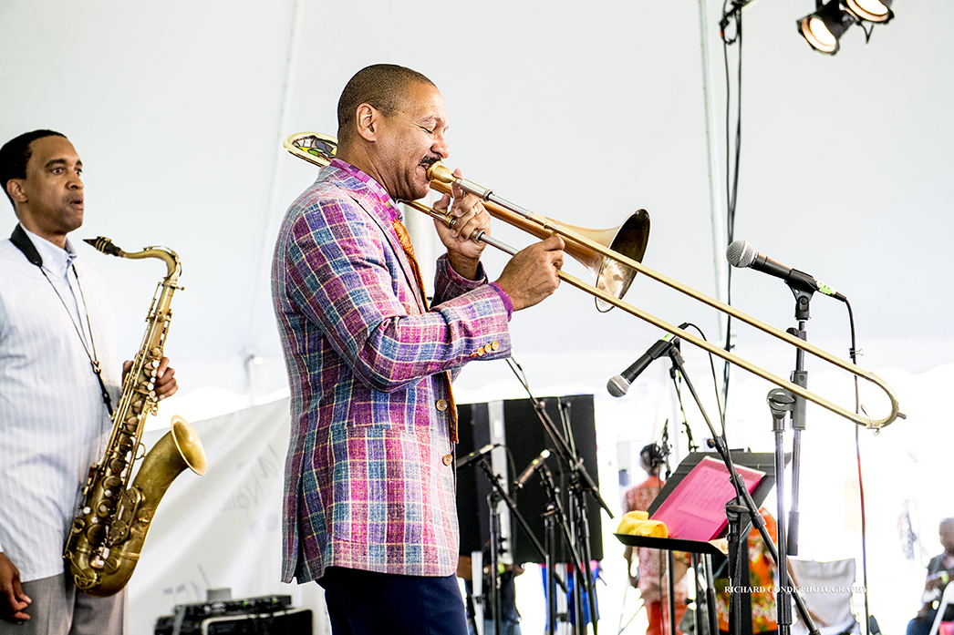 Delfeayo Marsalis at the 2017 Jazz in the Valley Jazz Festival