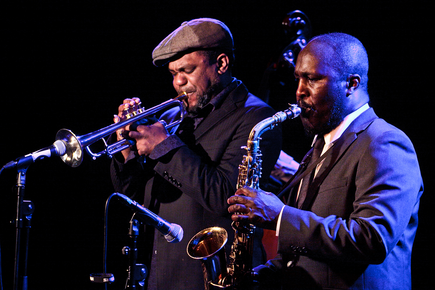 Byron Wallen and Tony Kofi