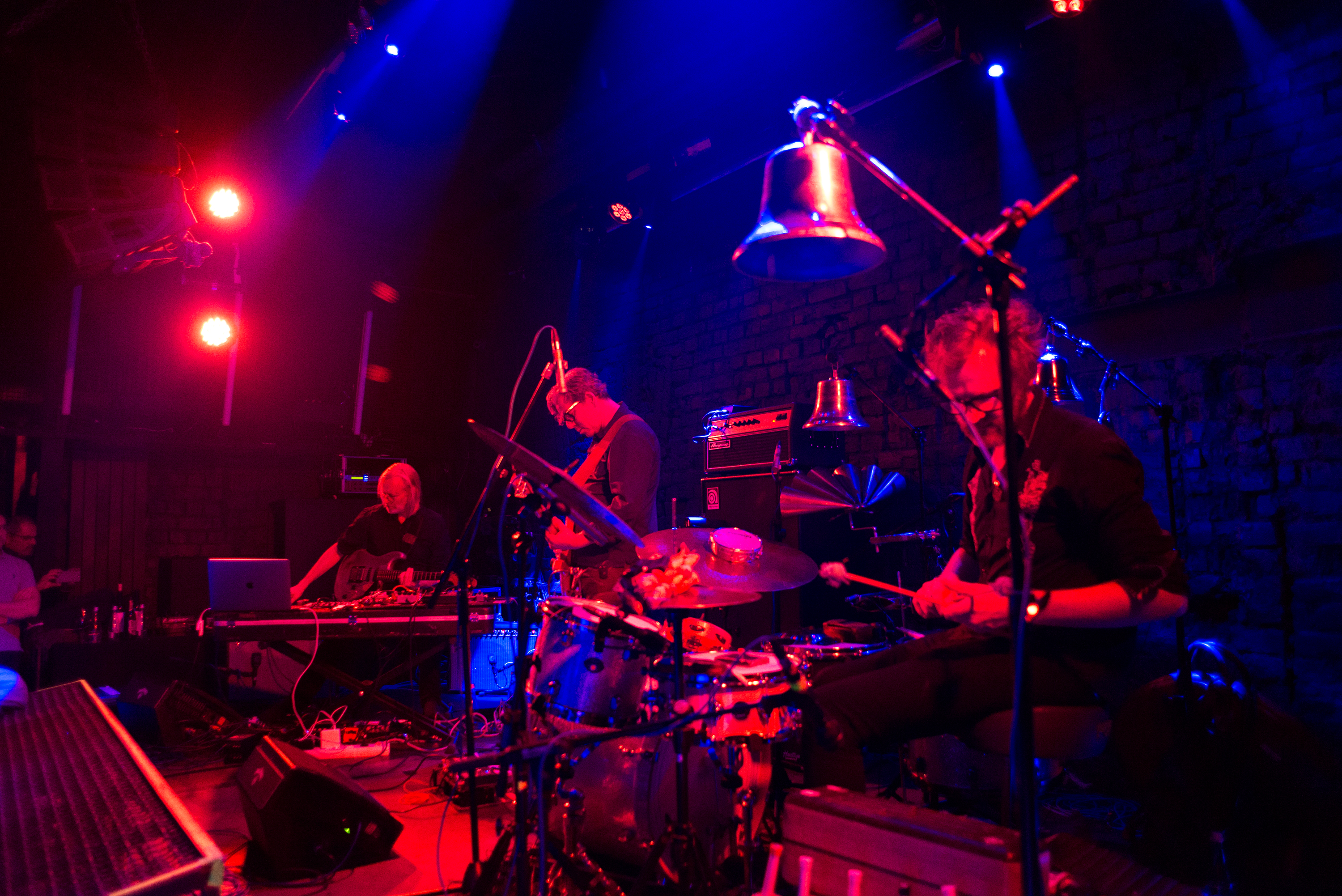 Eivind Aarset Trio @ Club Control, Bucharest, November 2018