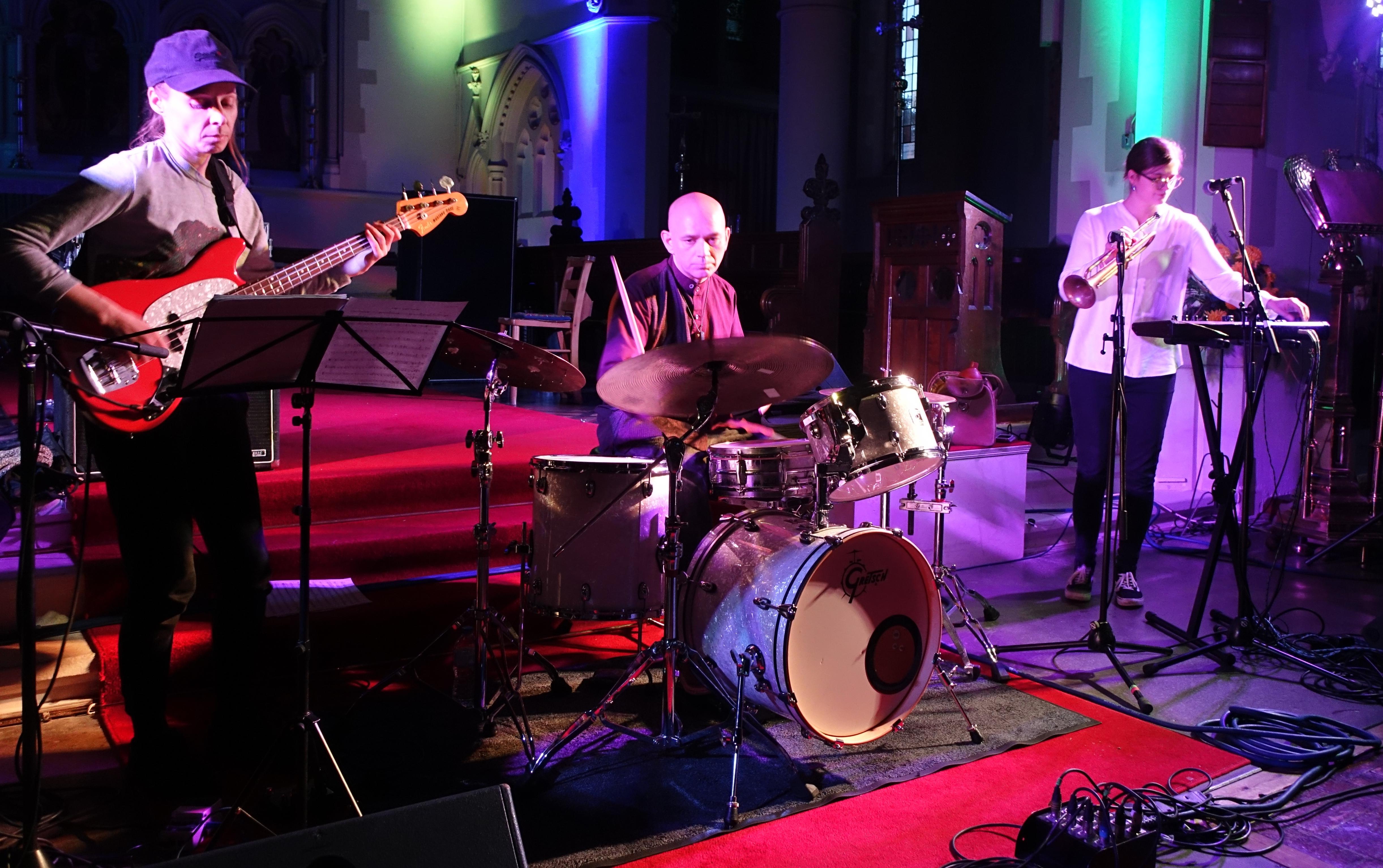 Laura Jurd's Dinosaur at Brighton Alternative Jazz Festival in October 2018