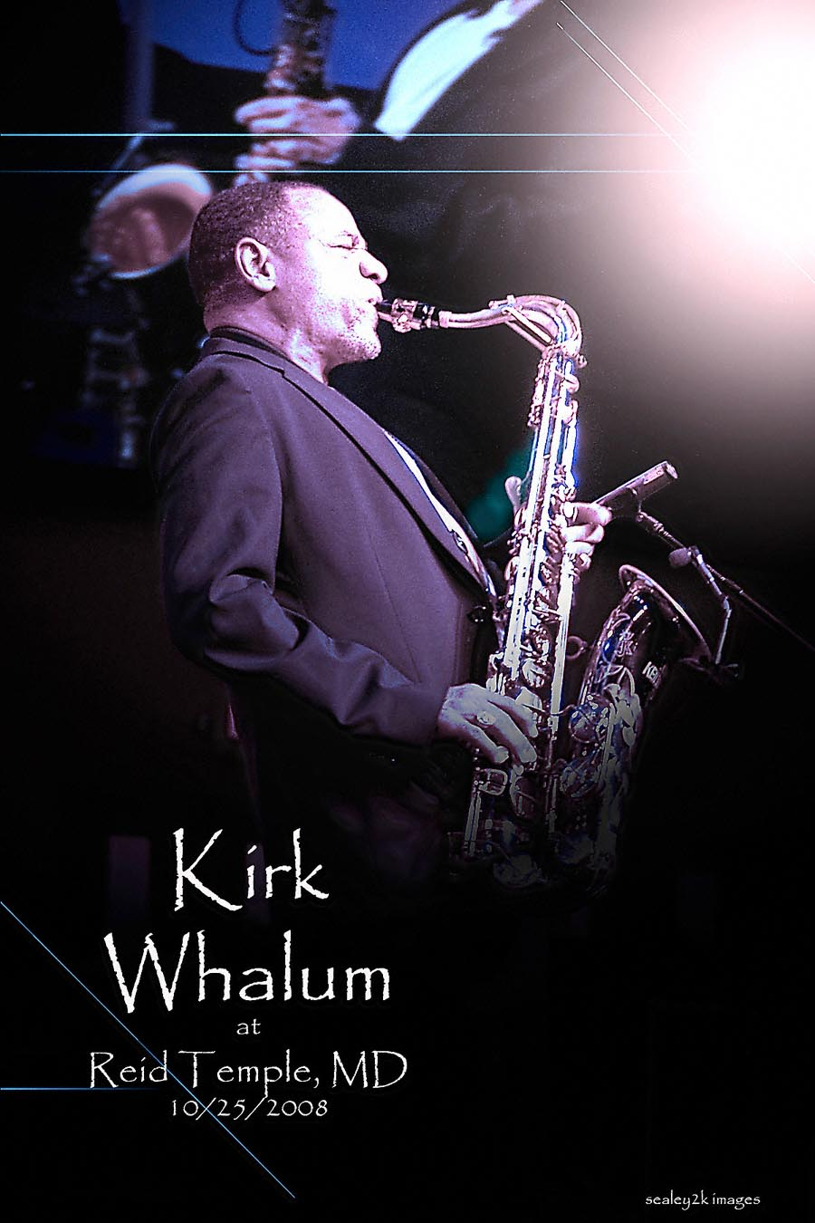 Kirk Whalum at Reid Temple (MD) 2008