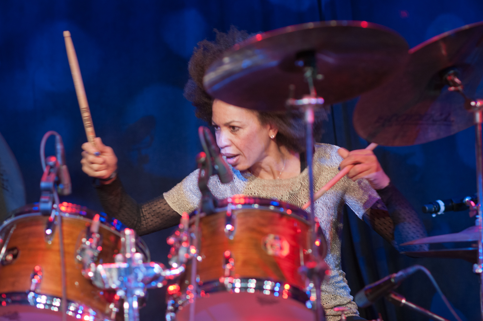 Cindy Blackman-Santana with Another Lifetime at the Winter Jazzfest 2012