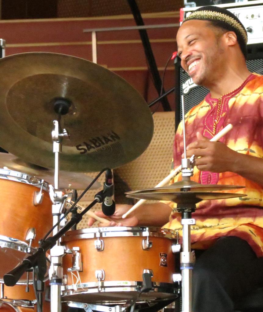 Winard harper with jimmy heath quartet at 2013 chicago jazz festival