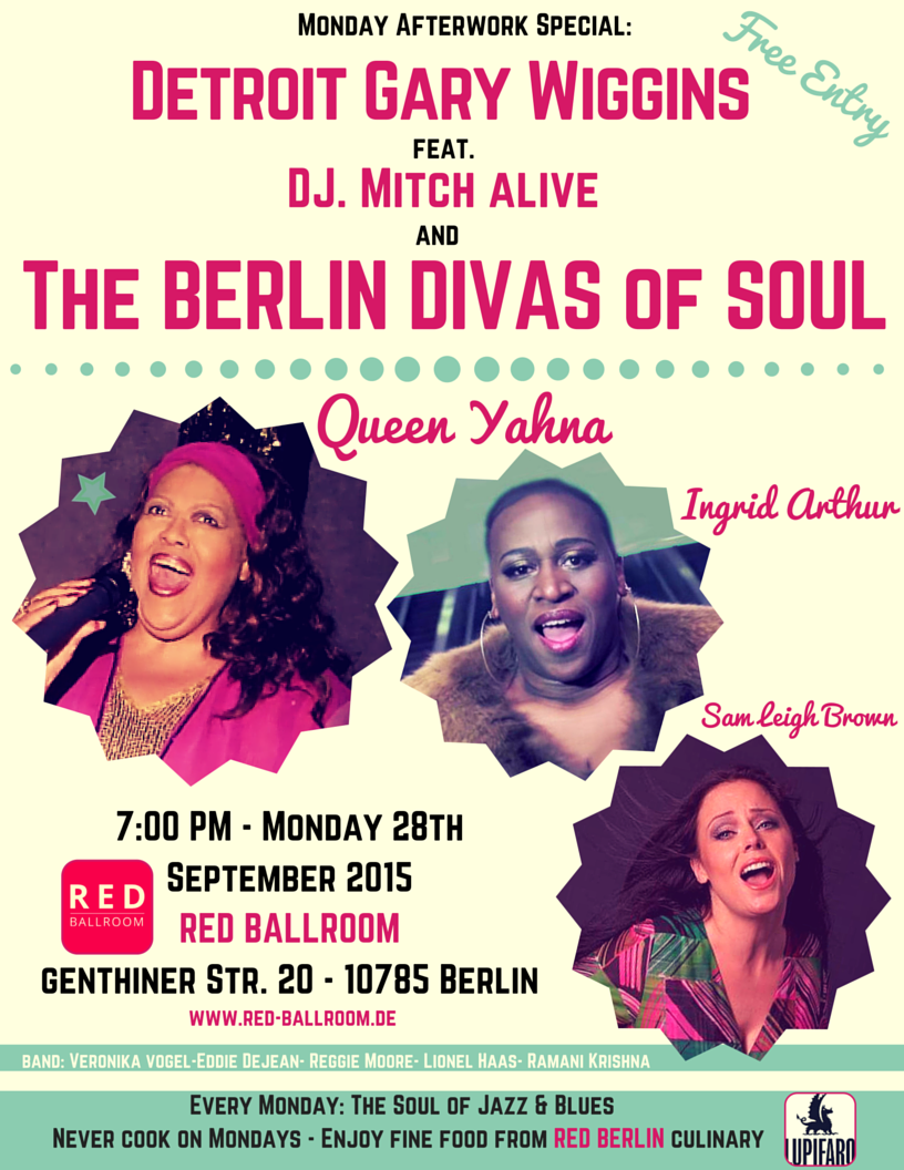 THE BERLIN DIVAS OF SOUL by DETROIT GARY WIGGINS feat. DJ Mitch Alive