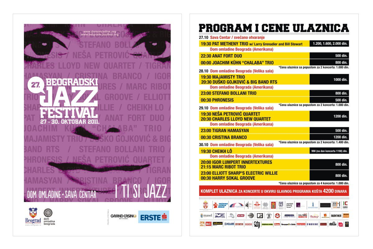 Majamisty Trio at Belgrade Jazz Festival