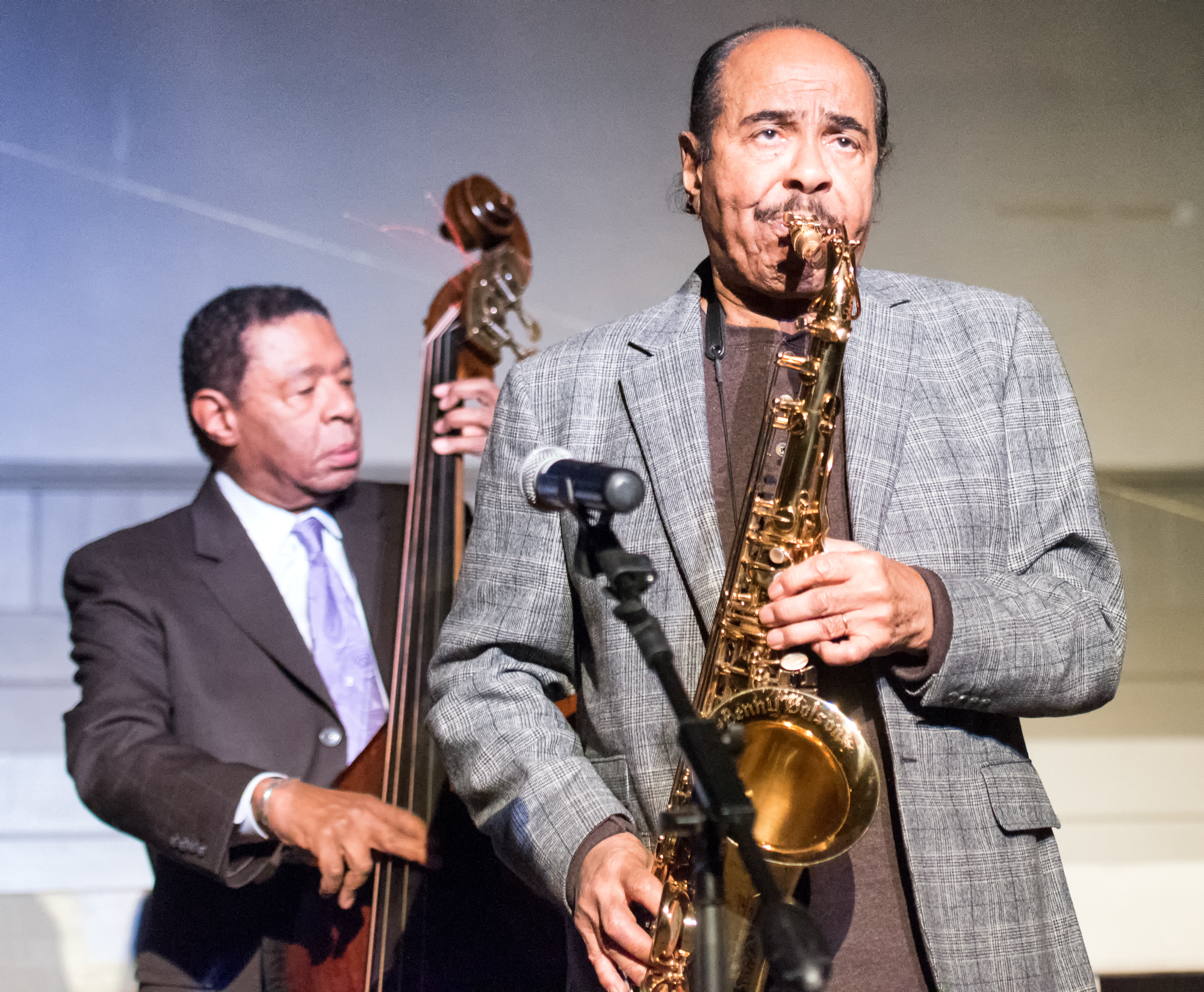 Benny Golson and Buster Williams at Jazz Legends Play for Disability Pride at Nyc Winter Jazzfest 2015