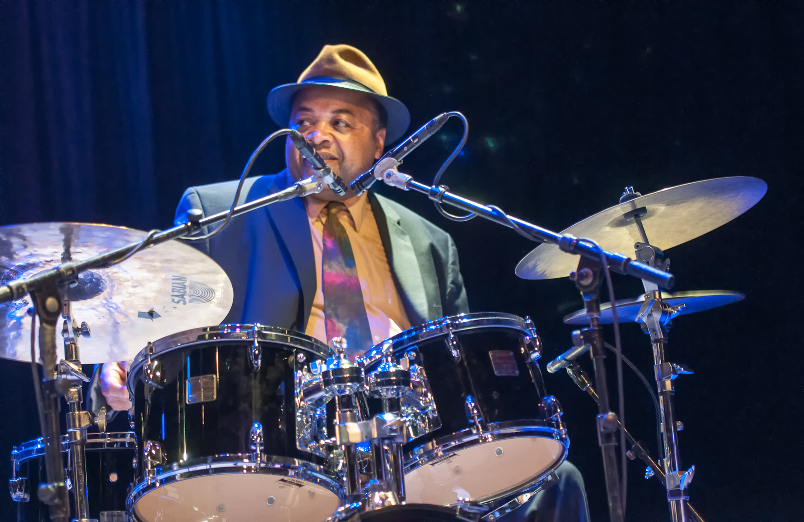 Jeff 'Tain' Watts at Jazz for Obama at Symphony Space
