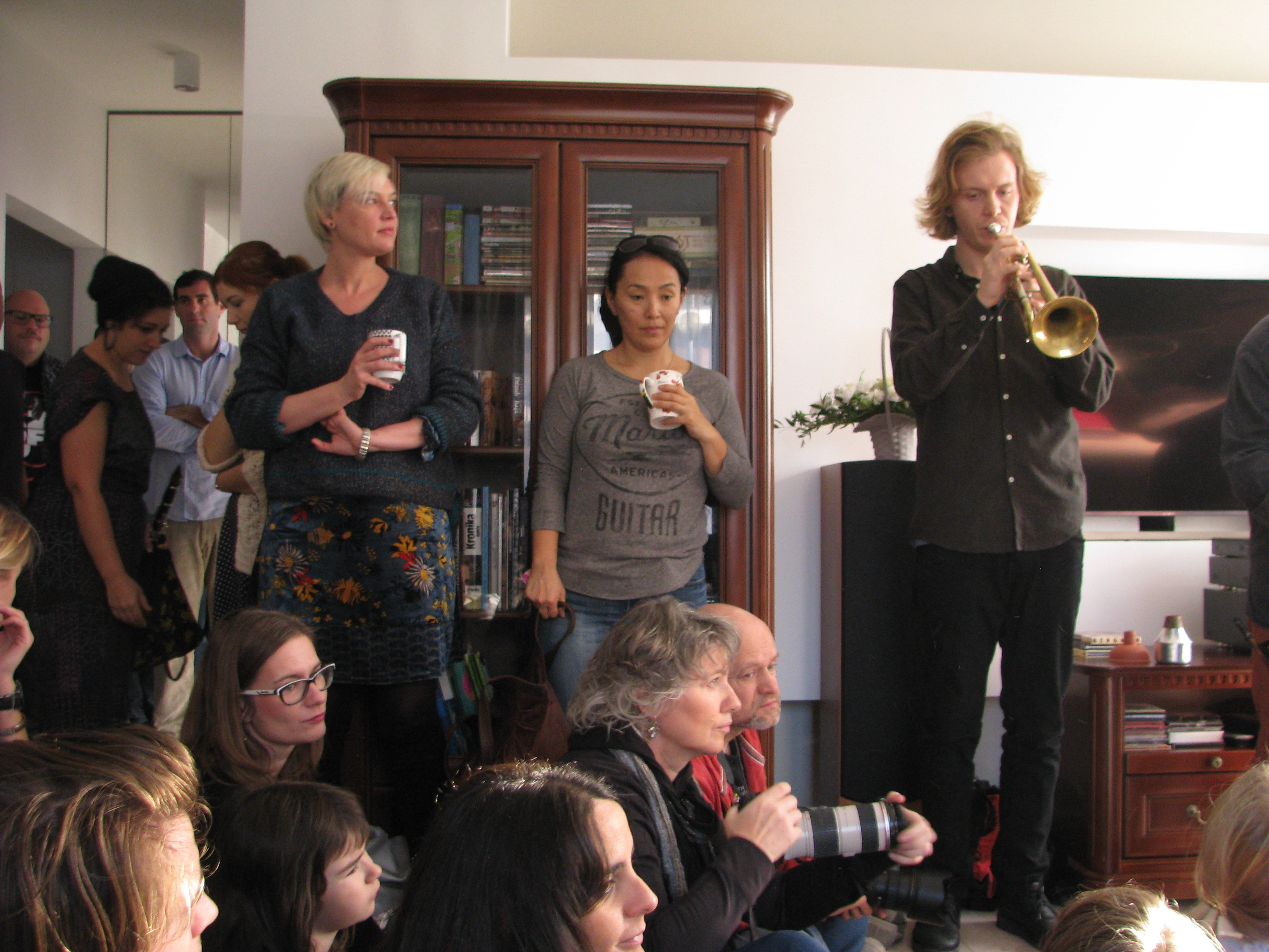 Living room concerts Jazztopad 2018 Wroclaw