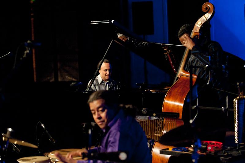 Michel Camilo 'Mano a Mano' with Charles Flores & Giovanni Hidalgo at Barcelona Jazz Festival