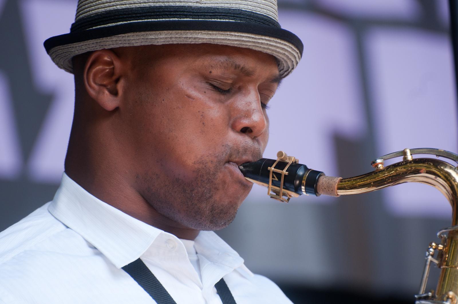 J. D. Allen at Charlie Parker Festival 2010