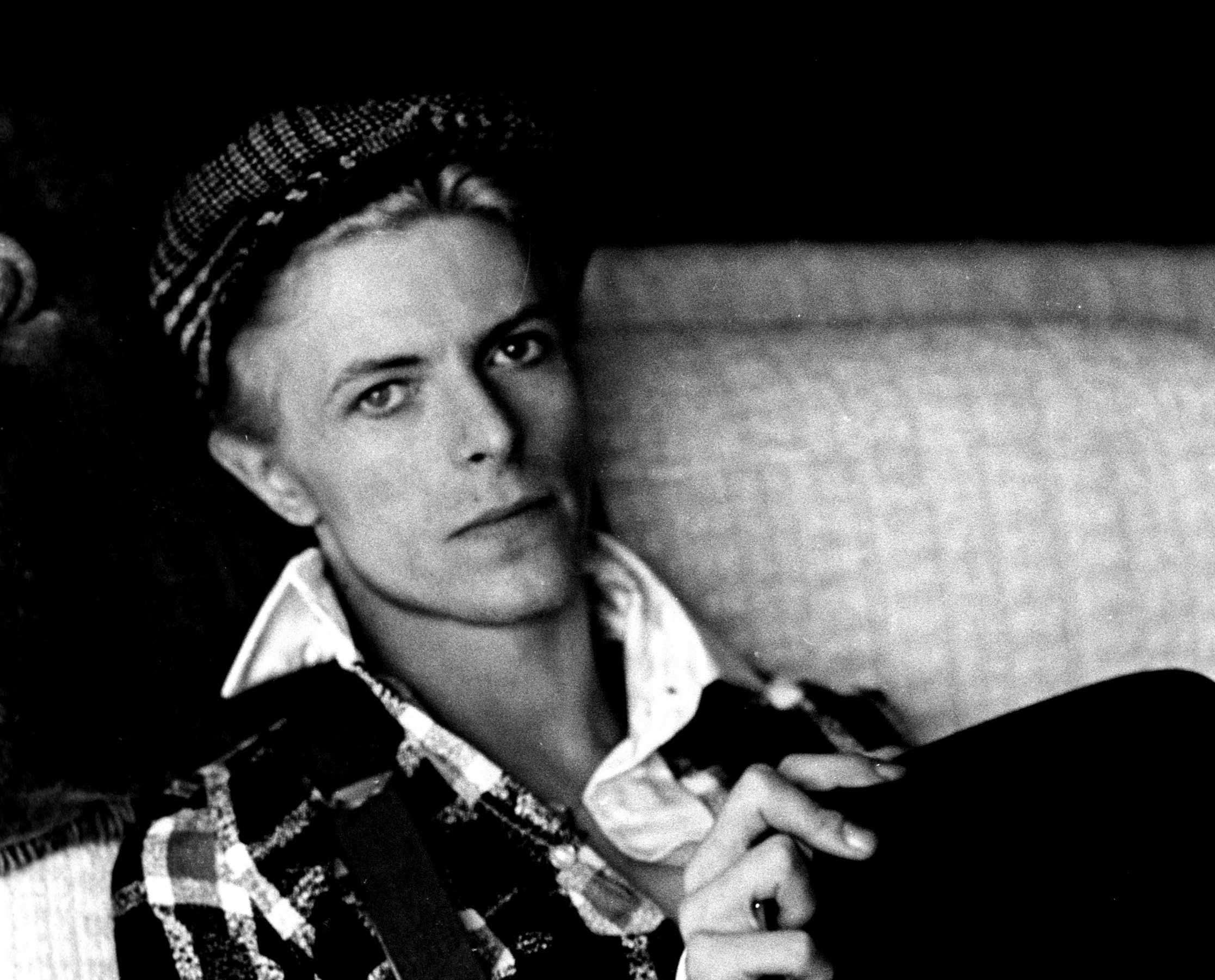 Bowie in LA home