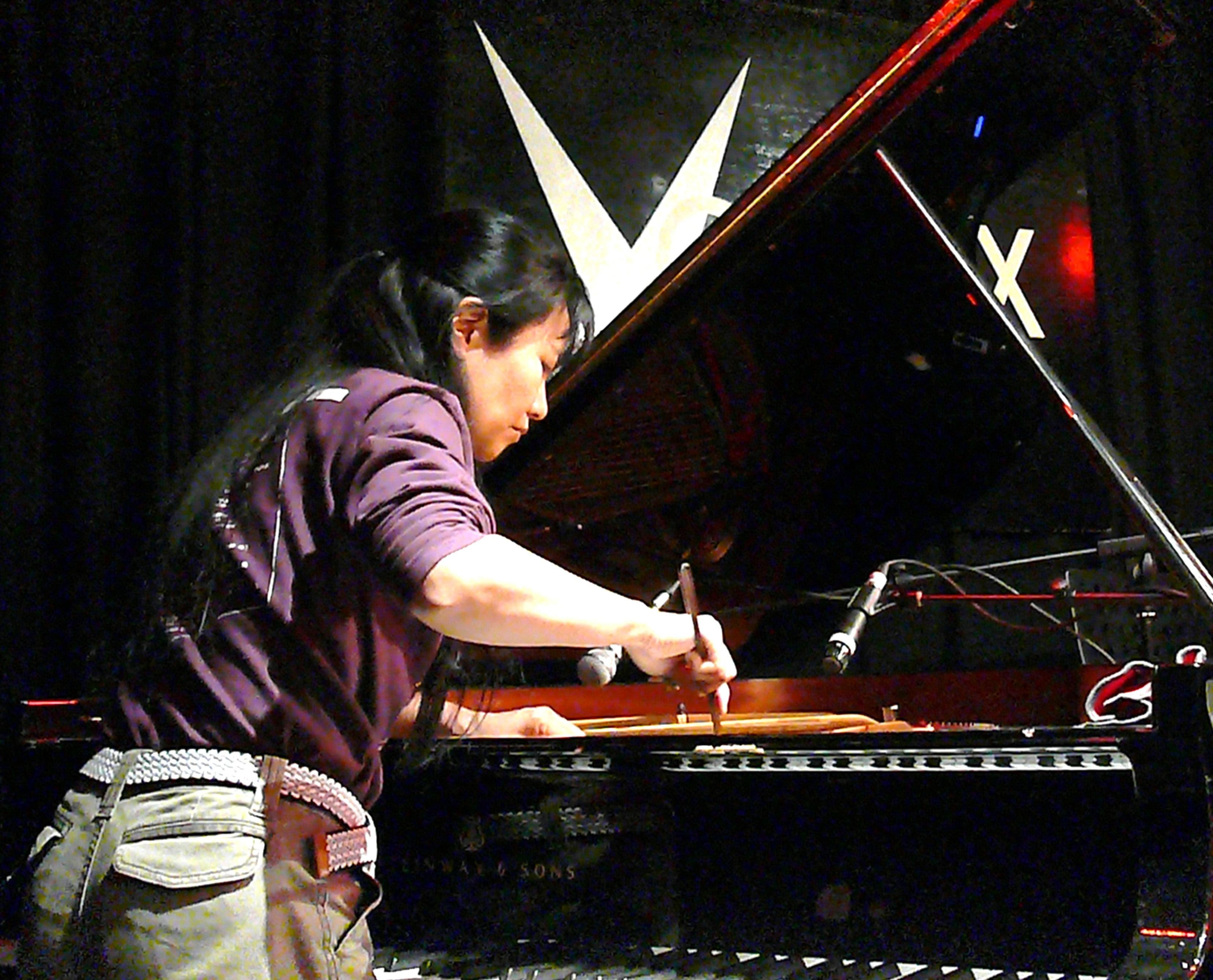 Satoko Fujii at the Vortex, London, April 2010