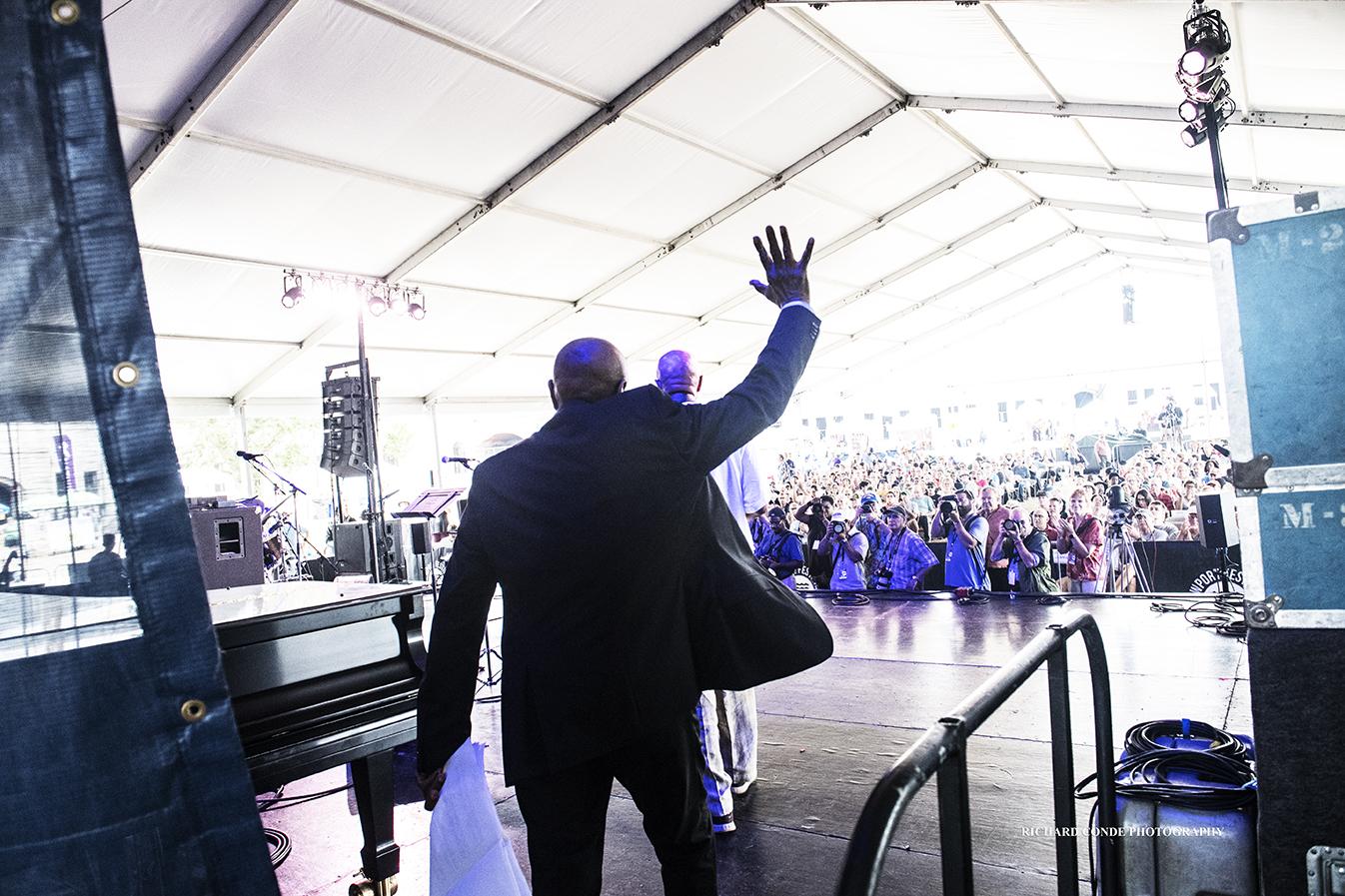 Trio 3 at the 2018 Newport Jazz Festival
