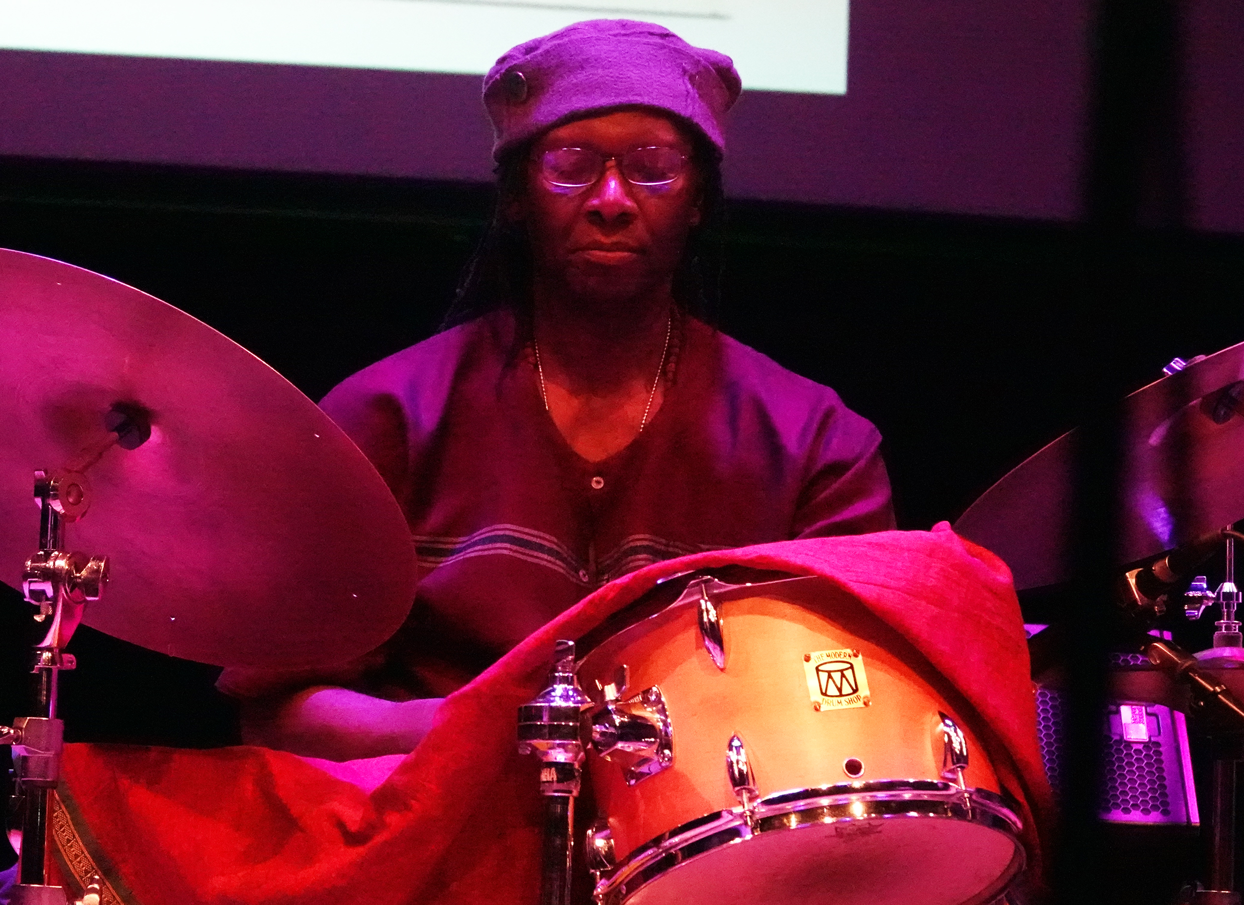 Hamid Drake at 24th Annual Vision Festival