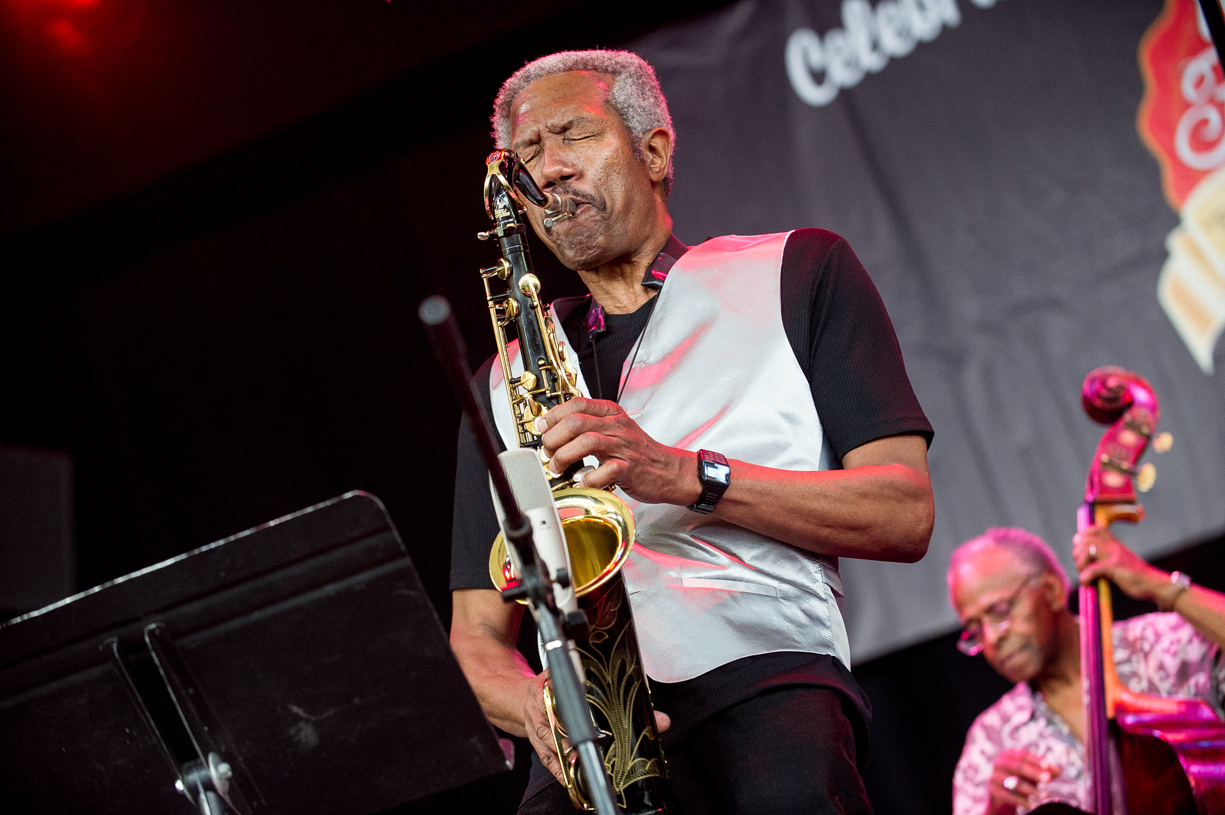 Billy harper and cecil mcbee at the saratoga jazz festival 2013
