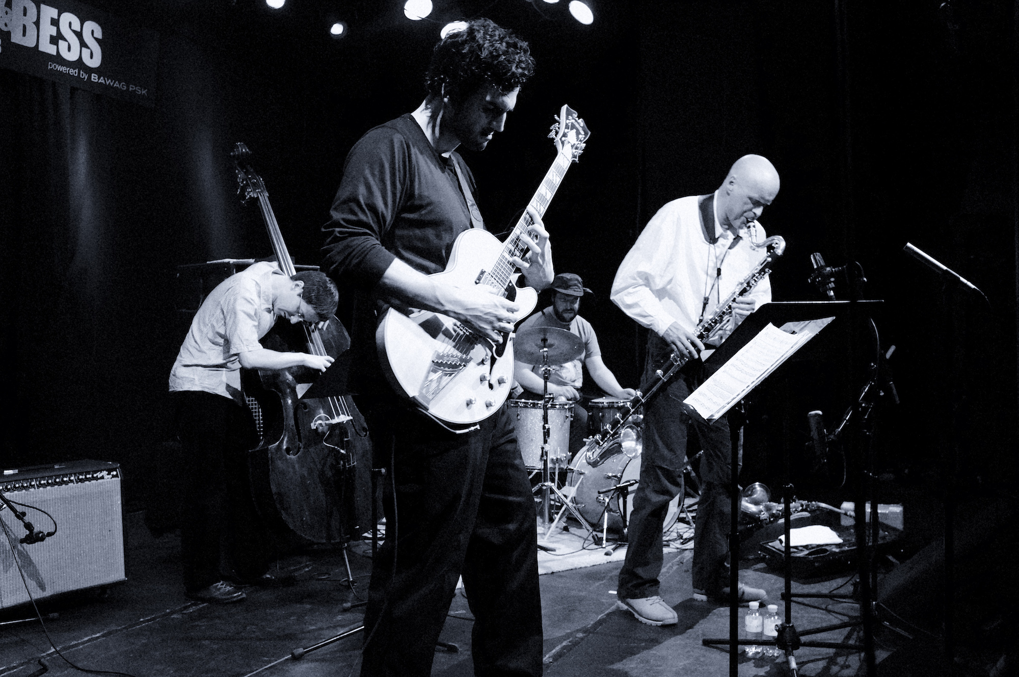 Scott DuBois Quartet live in Vienna, Austria