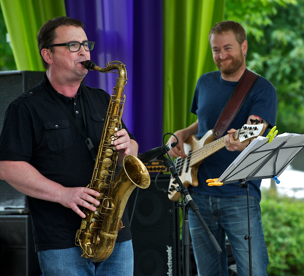 Kelly Jefferson and Chris Tarry - Markham Jazz Festival 2011