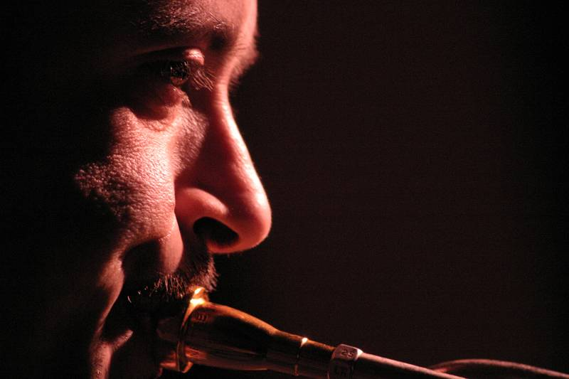 "Flavio Boltro with with ""Mirabassi-Boltro Ferris"" at Cully Jazz Festival, Switzerland, 2005"
