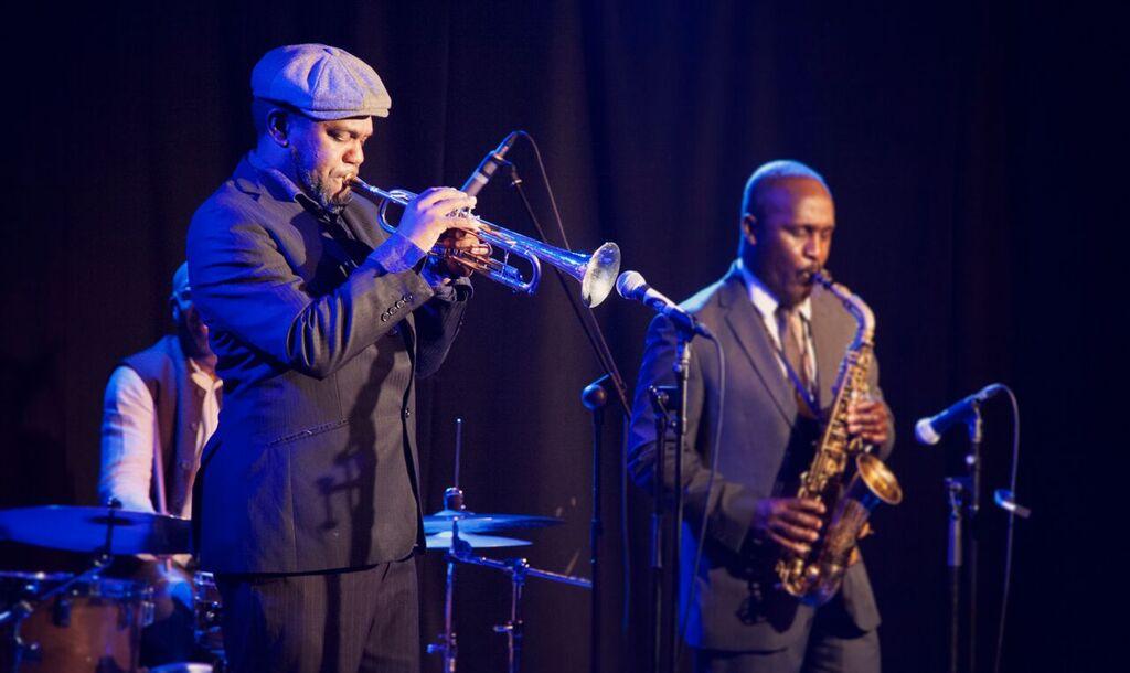 Byron Wallen and Tony Kofi