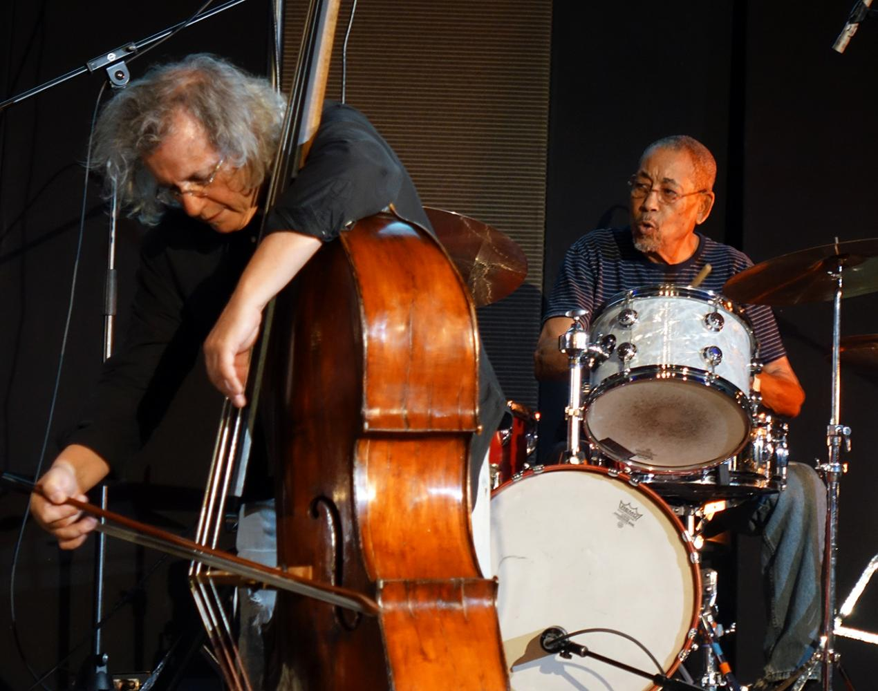 Michael Bisio & Warren Smith at Vision Festival 21