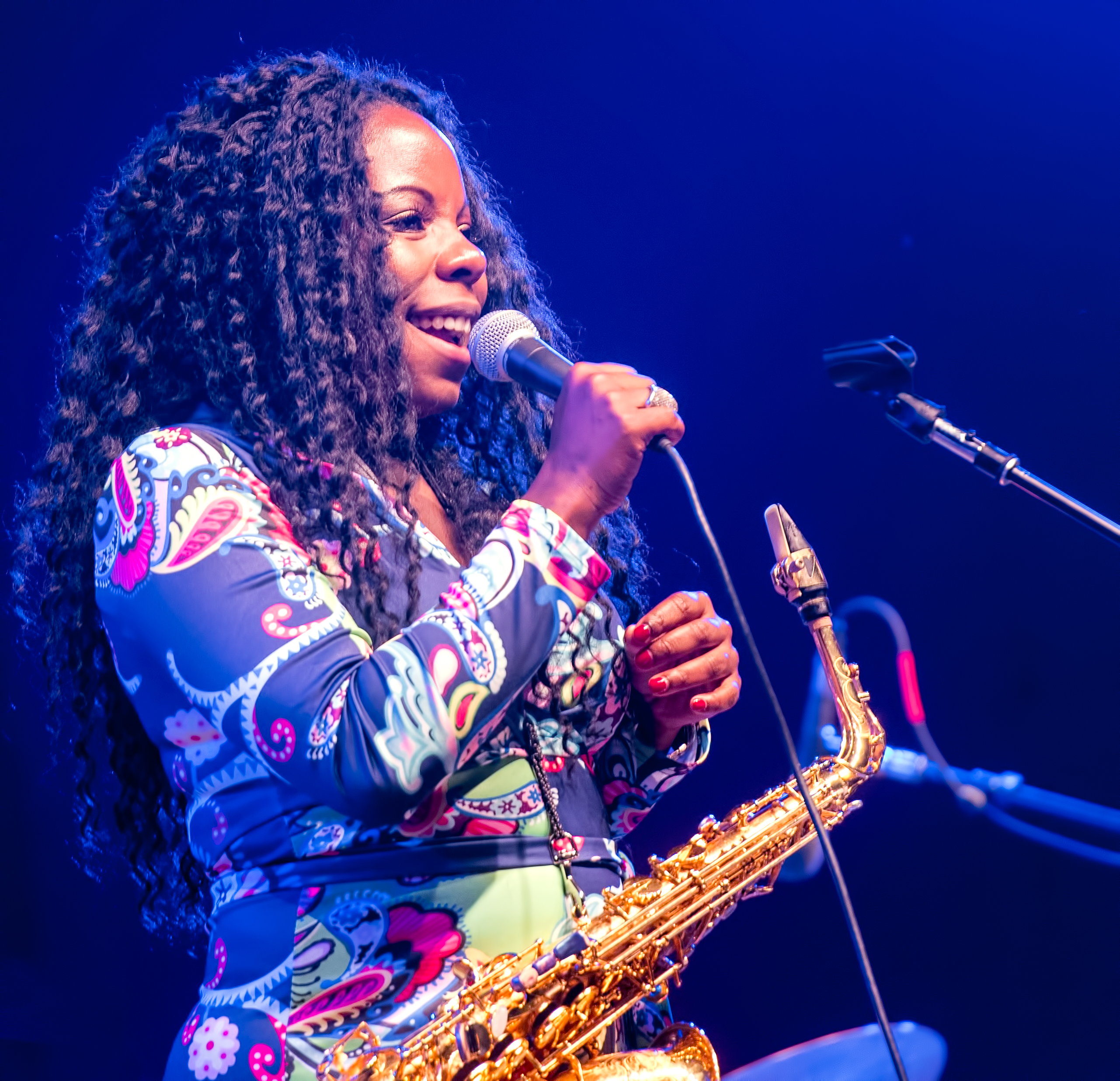 Tia Fuller with a Tribute to Geri Allen at the Monterey Jazz Festival 2018