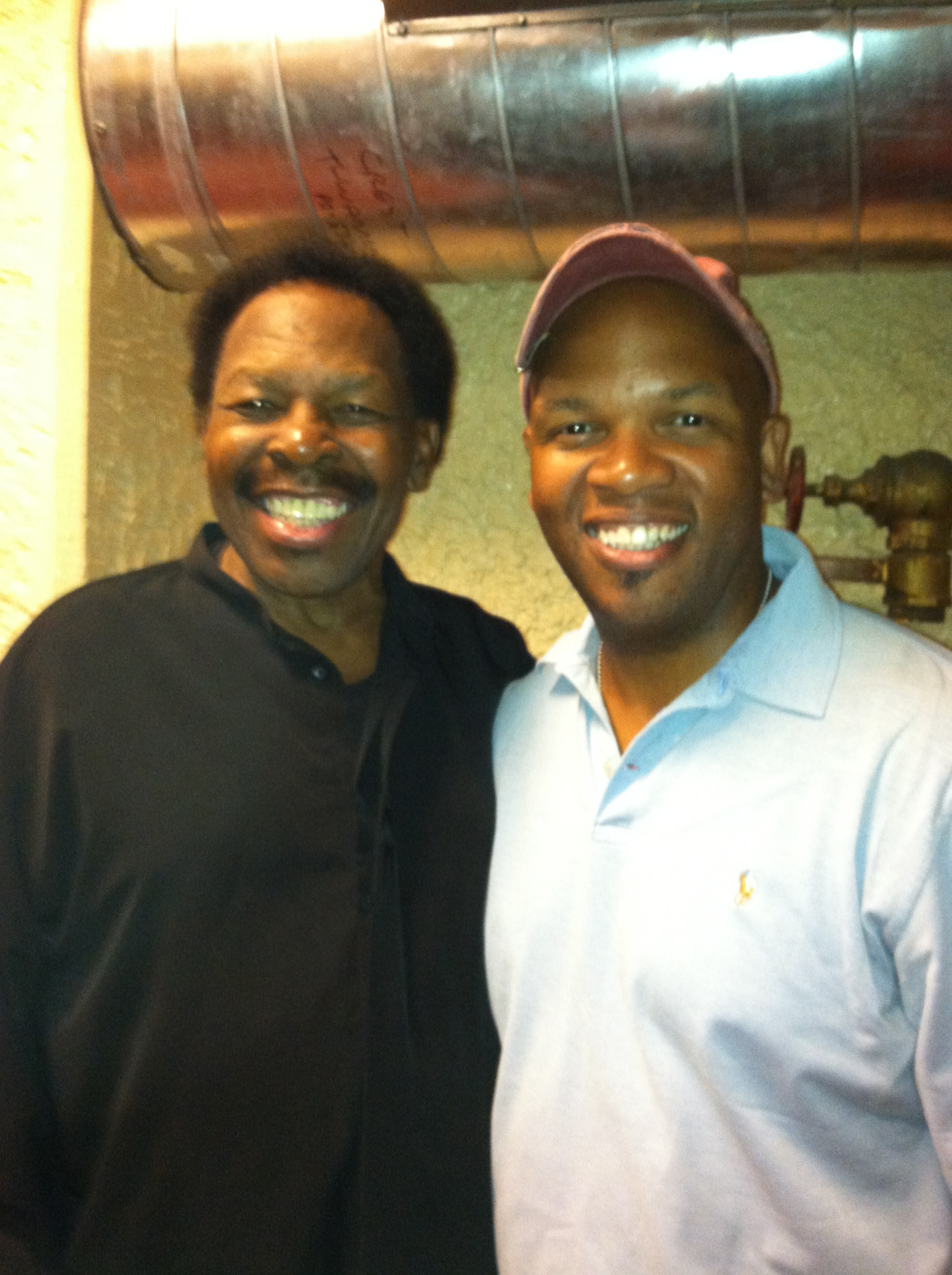 Lloyd Price and Mark Peterson