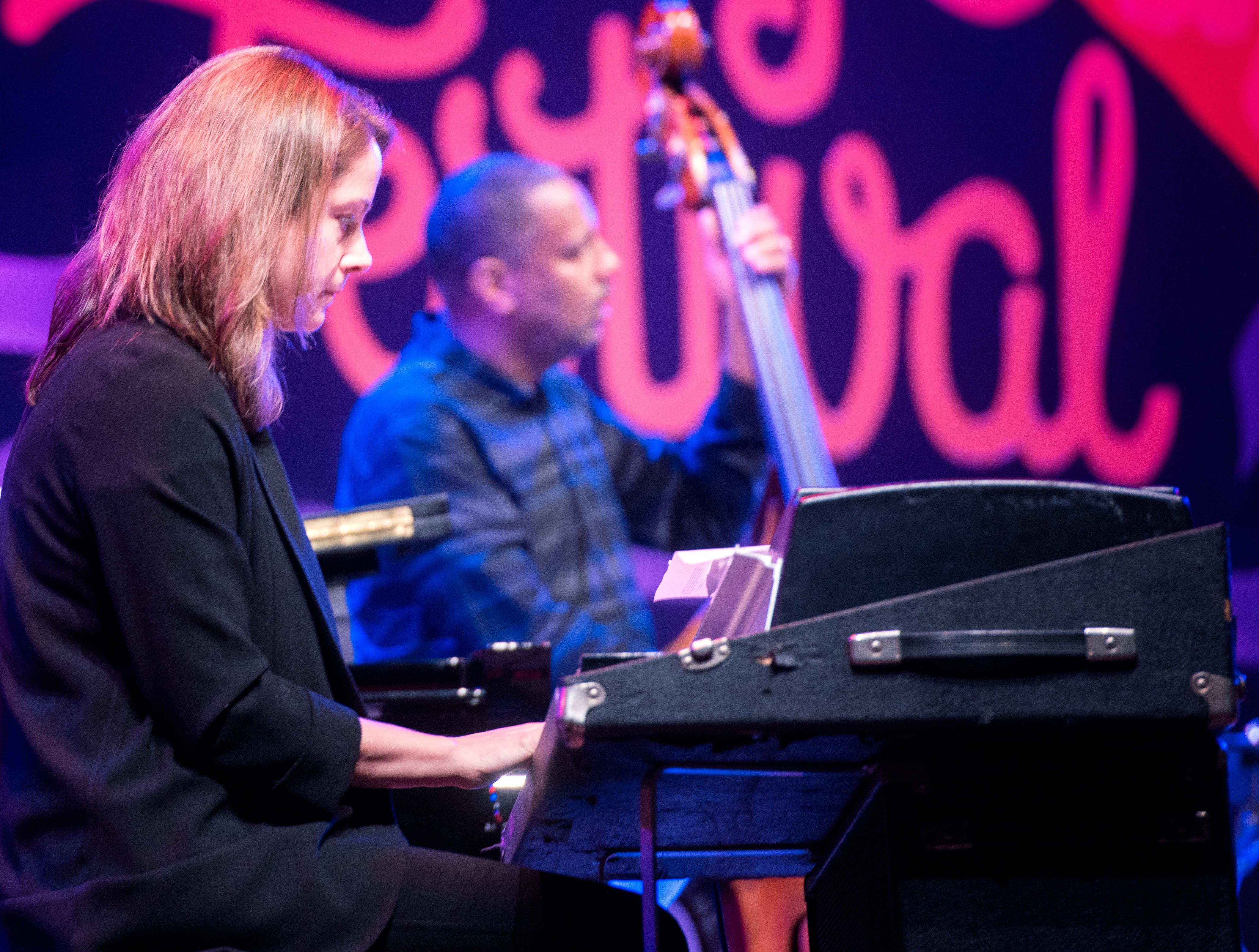 Kris Davis and Robert Hurst with a Tribute to Geri Allen at the Monterey Jazz Festival 2018