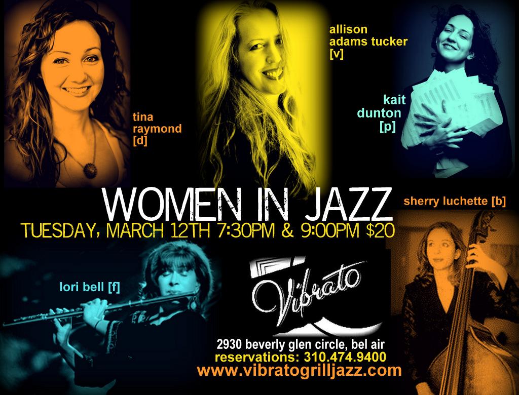 Women in Jazz, Vibrato Los Angeles