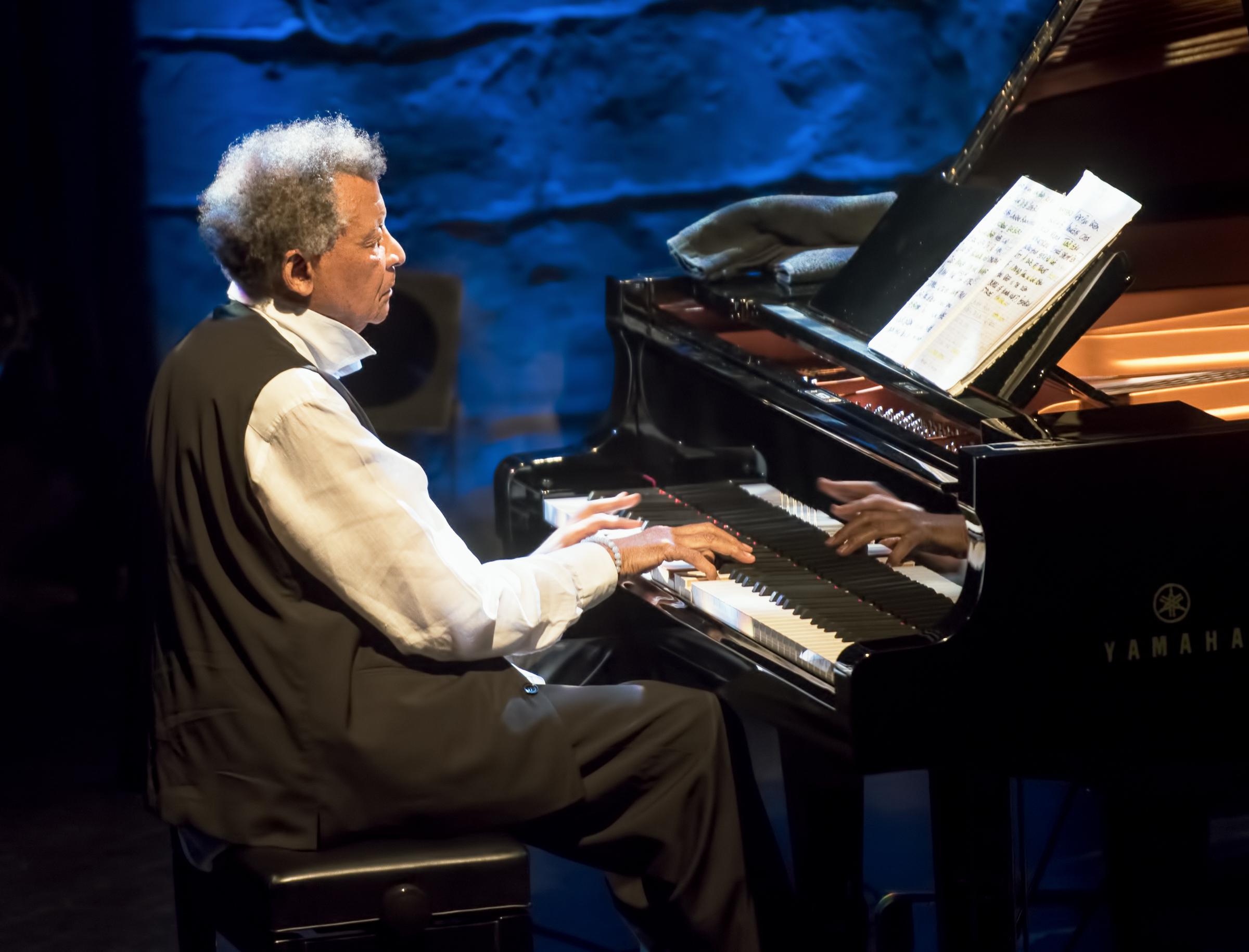 Abdullah Ibrahim at the Montreal Jazz Festival 2015