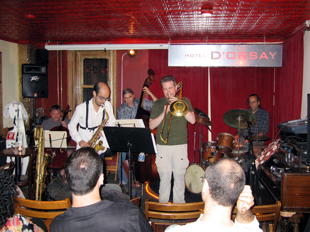 Ken Filiano Trio + Two: Ken Filiano, Michal Attias &Amp; Tomas Ulrich with Jackson Krall and Steve Swell - Barbs 2004