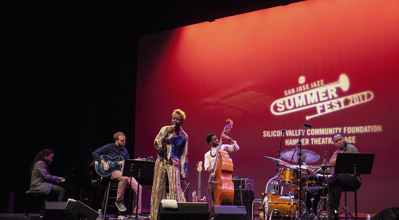 Carmen Lundy at San Jose Jazz Summer Fest 2017