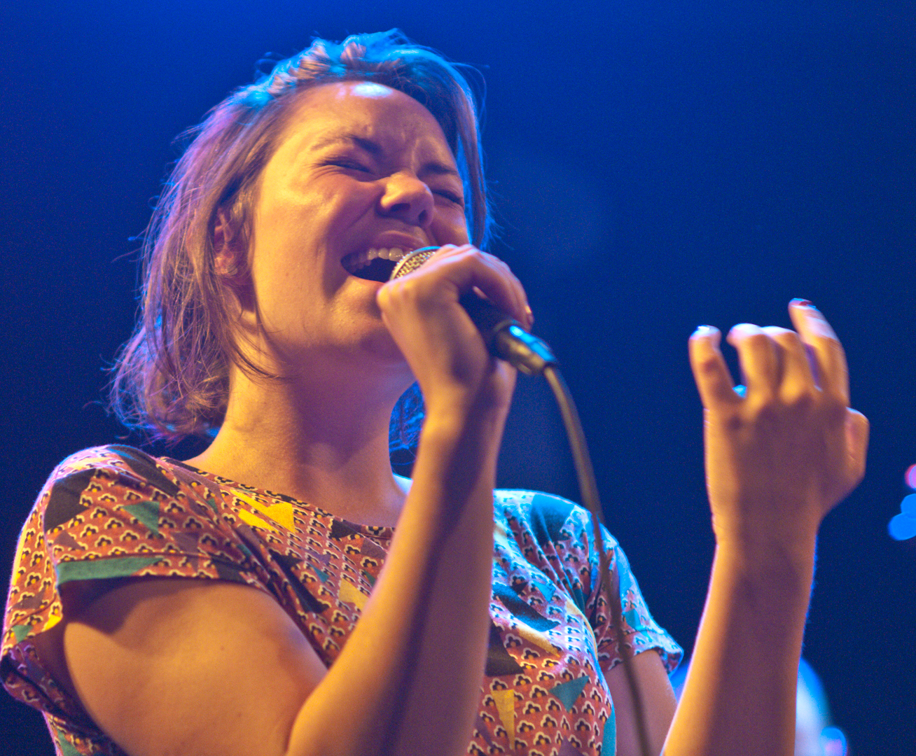 Sigrid Aase at the Oslo Jazz Festival Jam Sessions