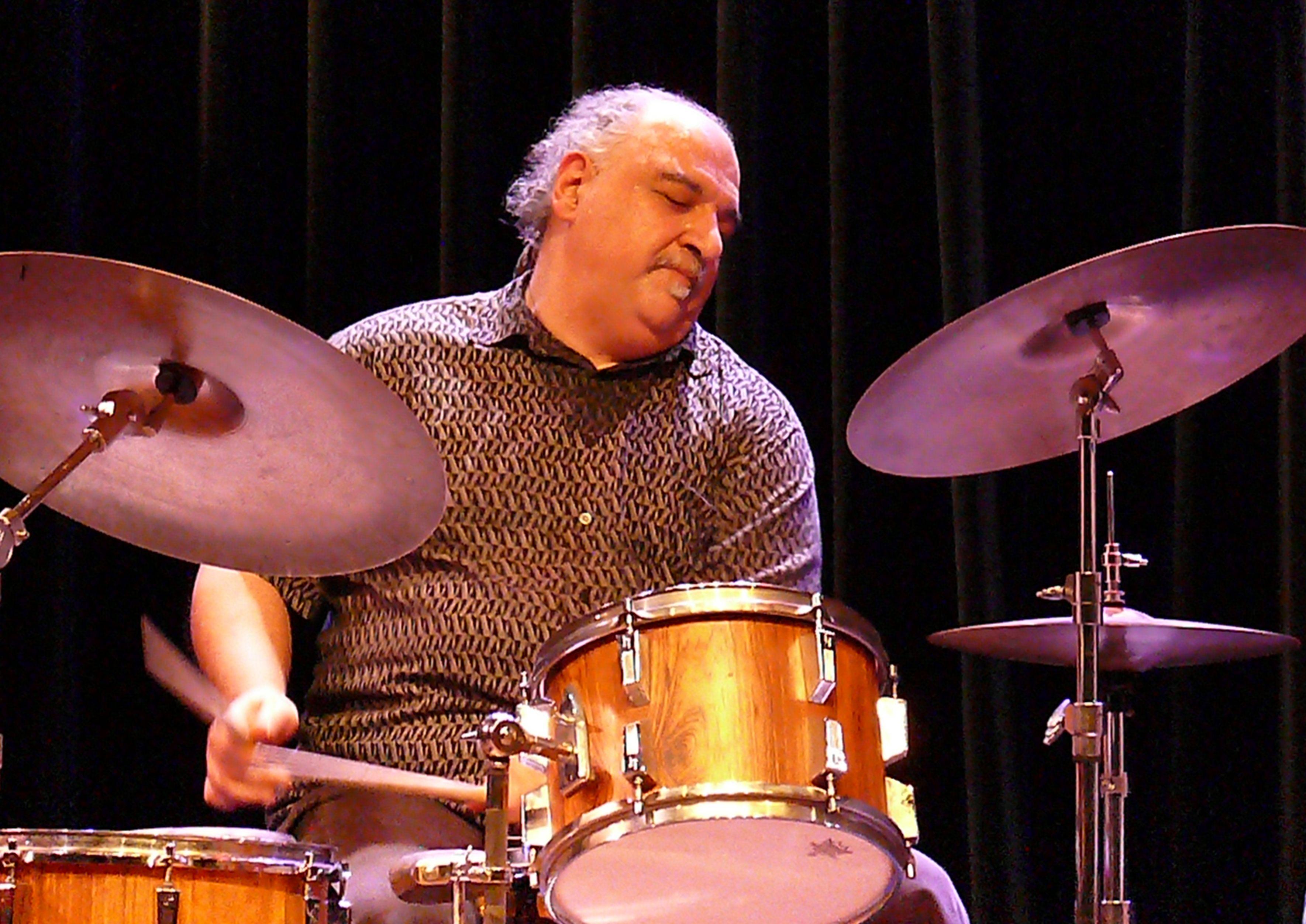 Michael Zerang at the Bimhuis in Amsterdam, 13 February 2009