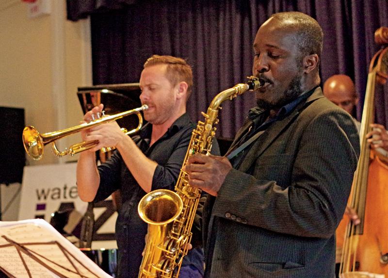 Quentin Collins, Tony Kofi, Basil Hodge Quintet