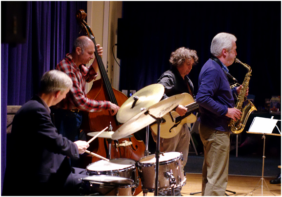 Howard alden quartet, watermill jazz club