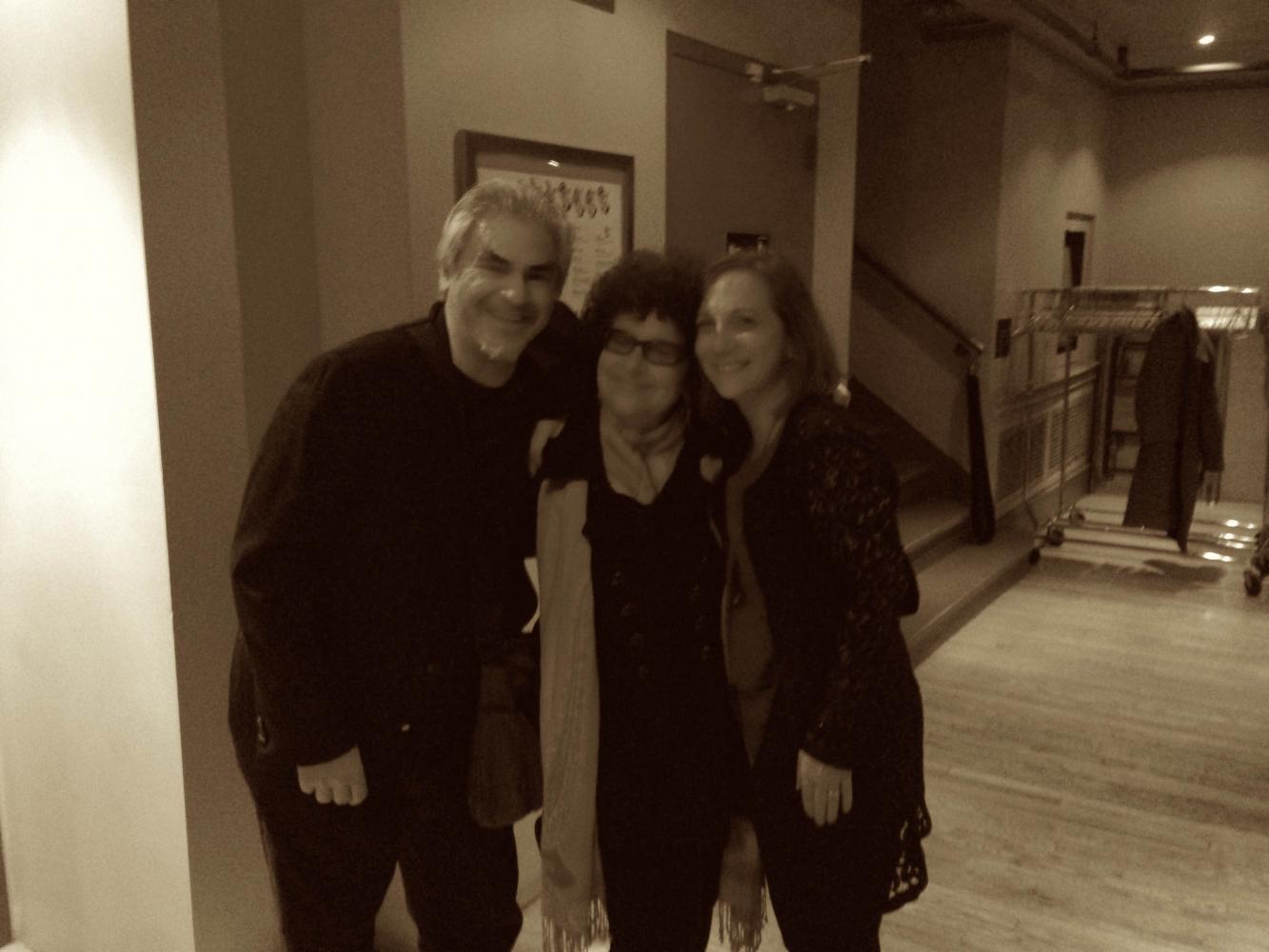 Roberta DeNicola with Ken Filiano and Andrea Wolper