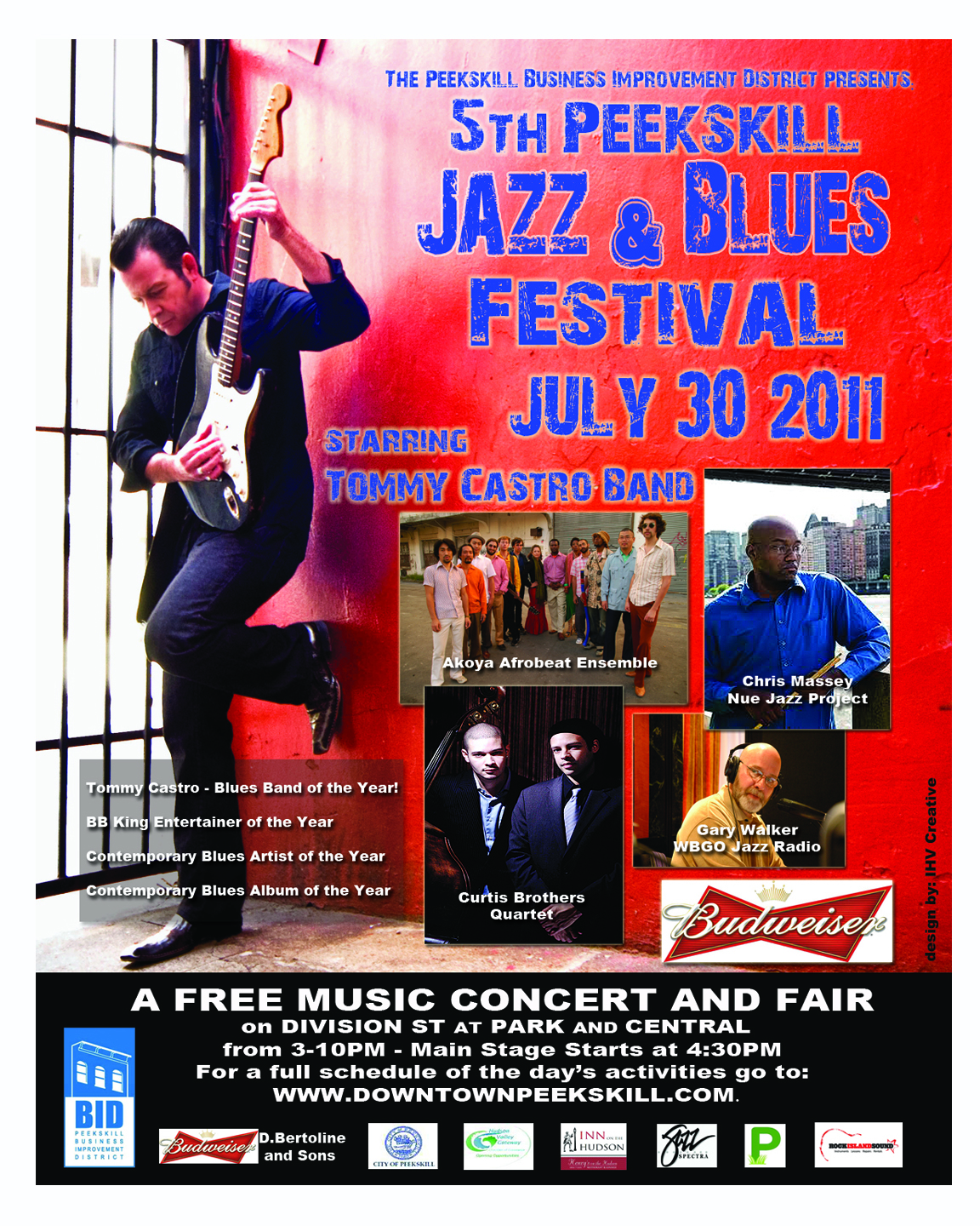 Peekskill Jazz & Blues Festival 2011