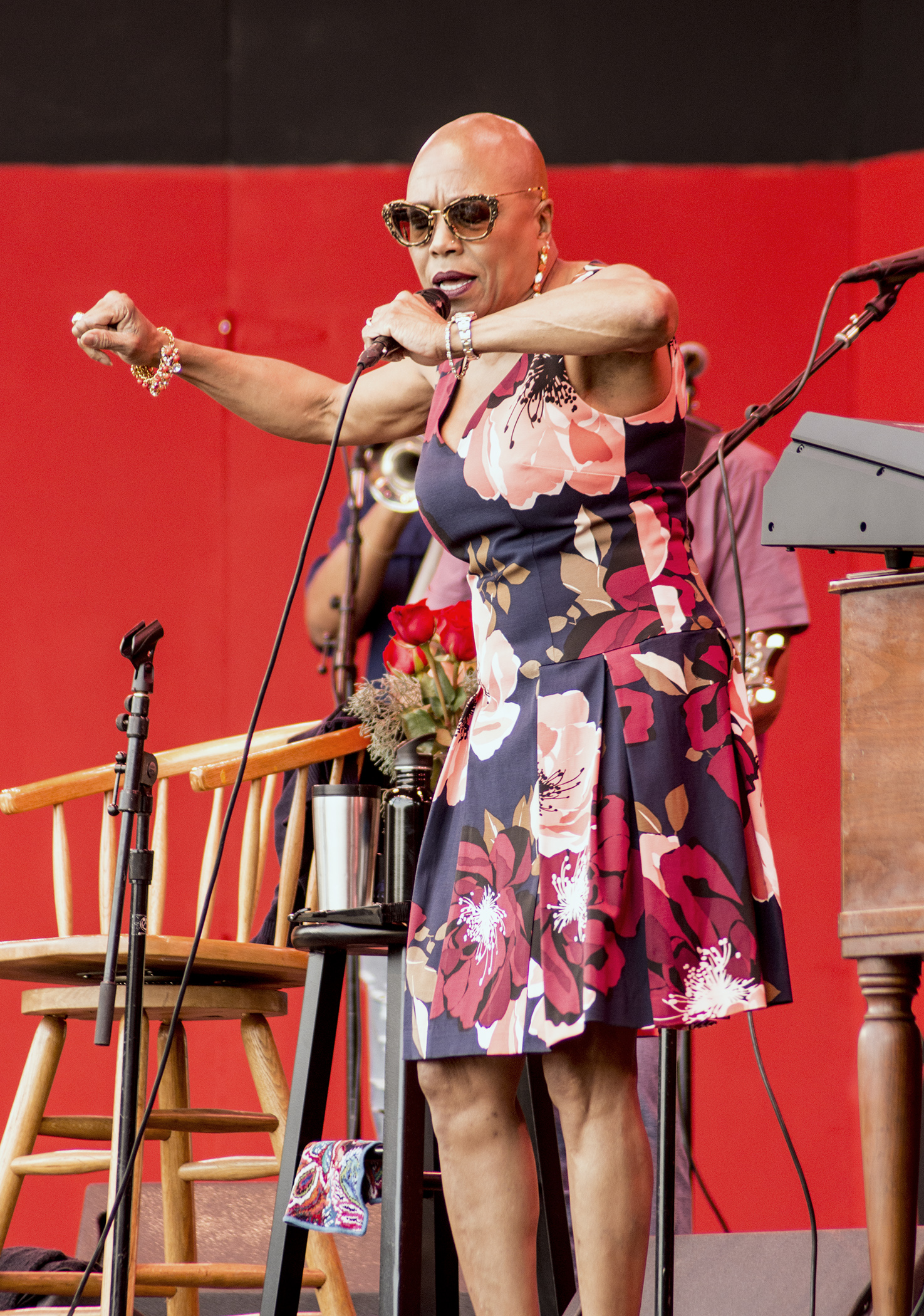 Dee Dee Bridgewater at Monterey Jazz Festival 2017