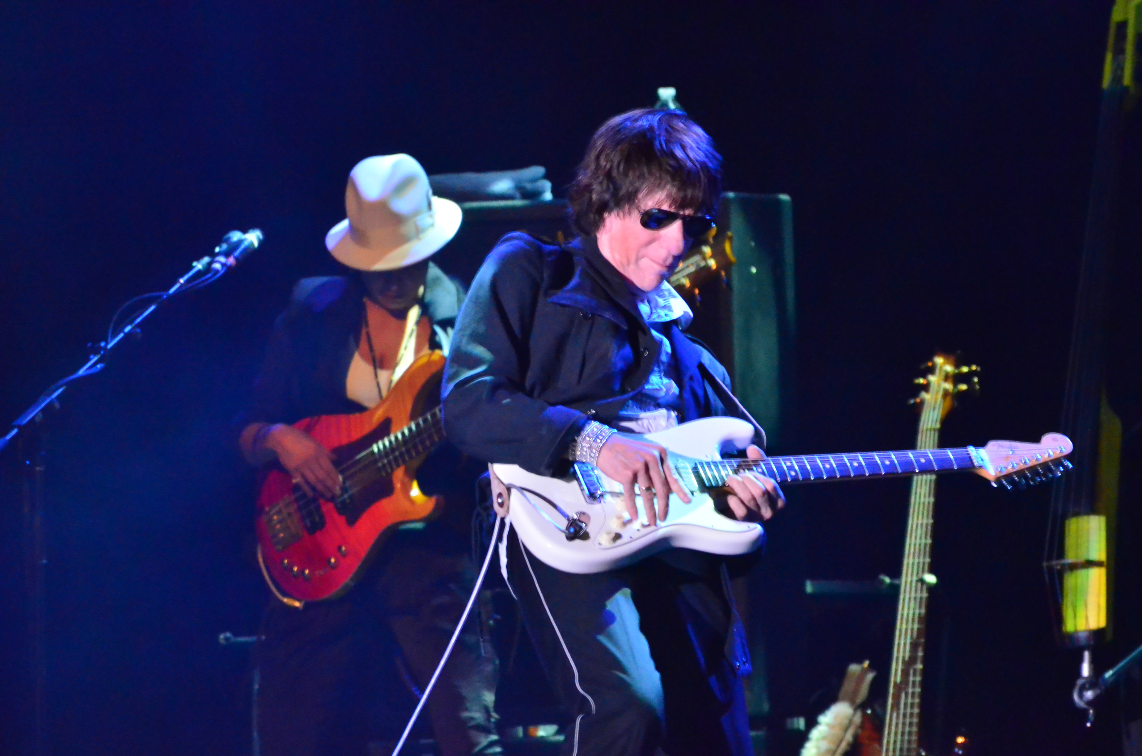 Jeff Beck at the Paramount in Huntington, ny on 4/15/2015.