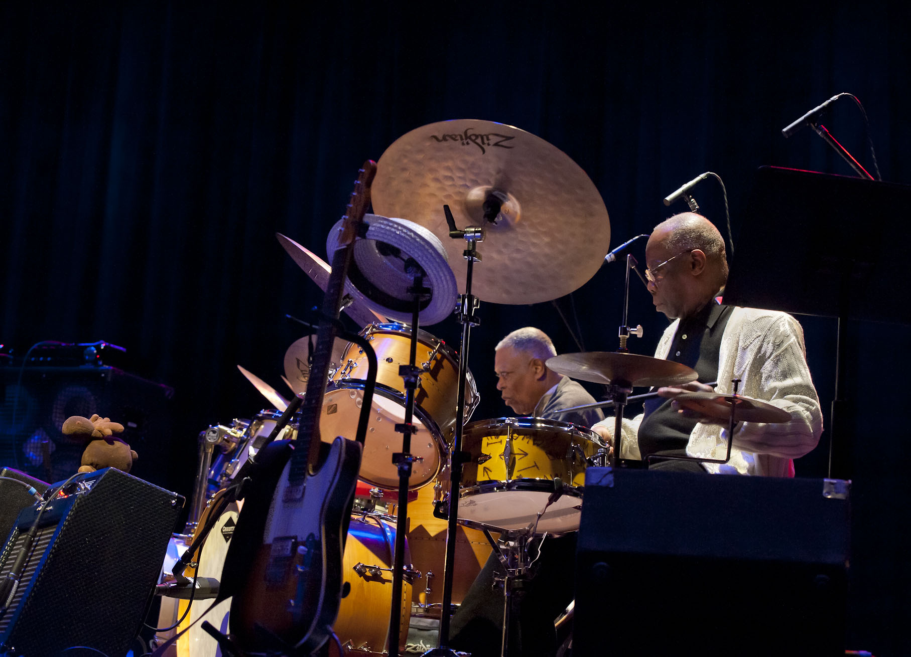 Andrew Cyrille and Billy Hart