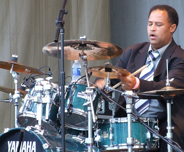 2006 Chicago Jazz Festival, Friday: Herman Lebeaux with Dr. Michael White's Original Liberty Jazz Band