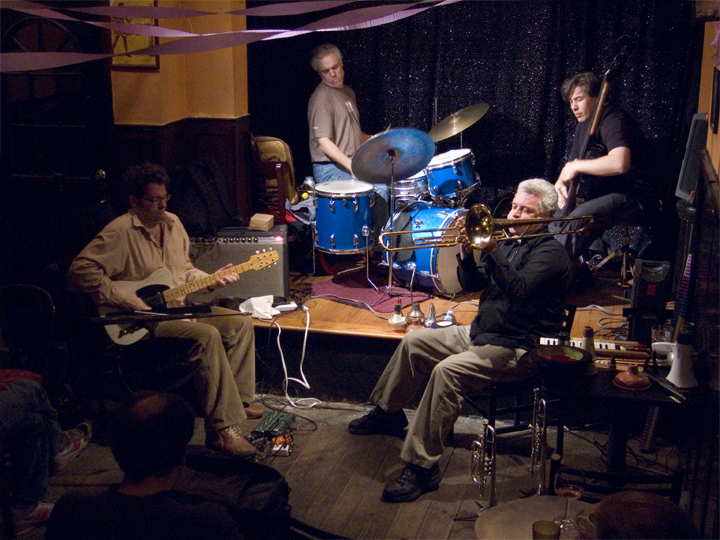 Herb Robertson Quartet with Terrence McManus, Chris Lough and Gerry Hemingway - Jimmy's 43 2007