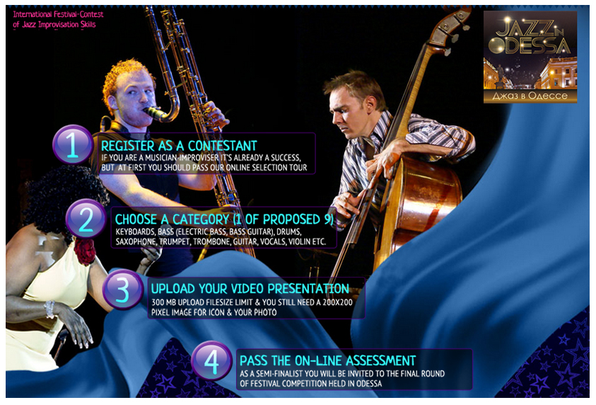 The Original Jazz Contest Gathers Improvisers Of The World Online